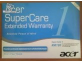 Acer Notebook Easy Care Post Warranty 1 Year Pack