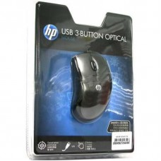 HP KZ248AA USB 3 Button Optical Mouse - Laptop