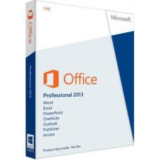 MICROSOFT OFFICE PROFESSIONAL 2013