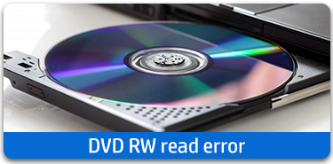 DVD repair error