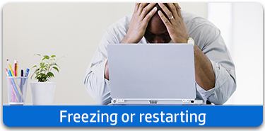 Freeze or restart