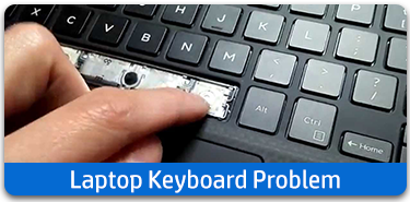 Laptop keyboard problem