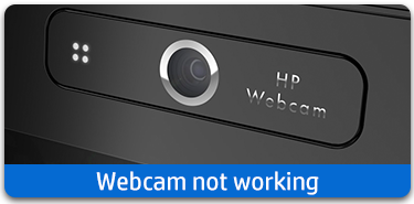 Webcam not working